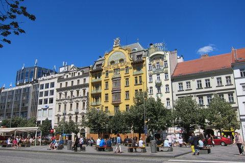 FOTKA - Všední den na Václavském náměstí