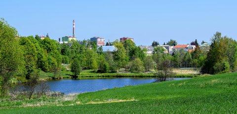 FOTKA - Rybník u města