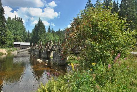 FOTKA - hradlový most a Vydra