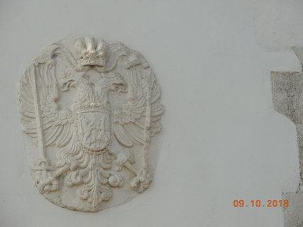 FOTKA - Hrad Špilberk - znak nad bránou