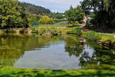 FOTKA - Rybník a budka pro kachny
