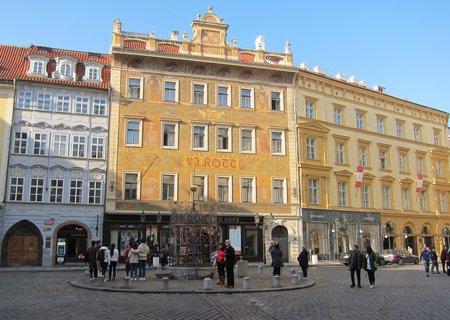 FOTKA - Malé náměstí a dům U Rotta