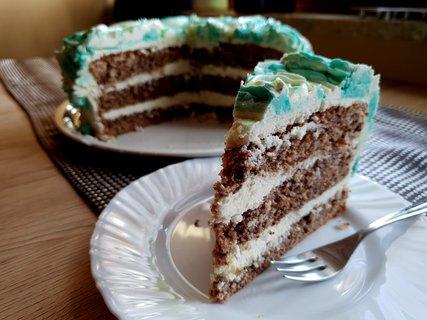 FOTKA - Můj narozeninový dort v řezu