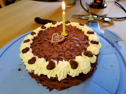 FOTKA - Dort od kolegyně k mým narozeninám
