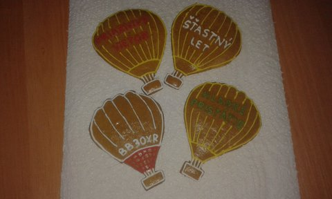 FOTKA - Medovníčkové balóny pre kamaráta pilota, s ktorým sme leteli na jar