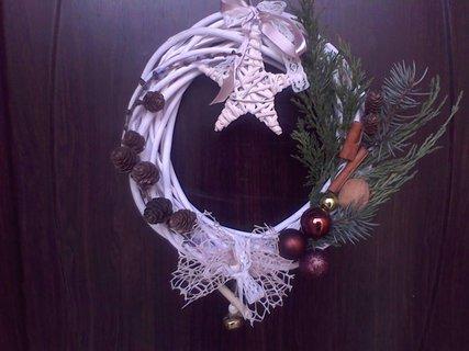 FOTKA - Vánoční věnec na dveře