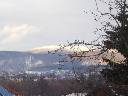 FOTKA - Jizerky osvícené zapadajícím sluncem (29.1.)