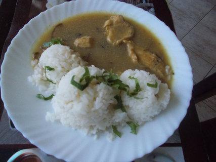 FOTKA - kuře s rýží a omáčkou