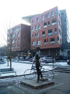 FOTKA - cyklistce zima nebylo