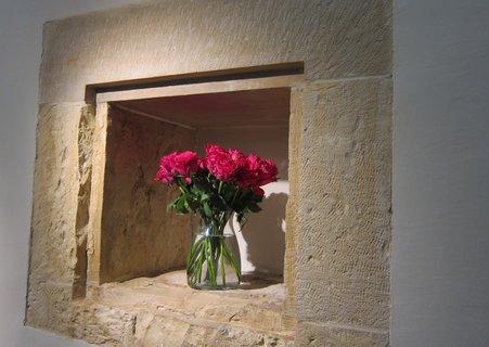 FOTKA - Karolinum  - Křížová chodba - výstava růží