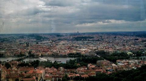 FOTKA - Praha z rozhledny