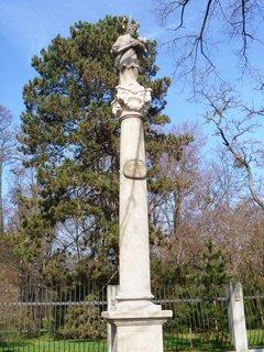 FOTKA - socha u Podzám. zahrady v Kroměříži