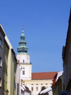 FOTKA - zámecká věž v Koměříži