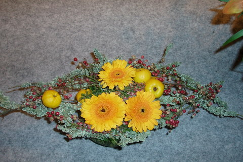 FOTKA - podzimní aranžmá