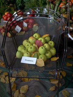 FOTKA - zahradkarska vystava,zelene jabka
