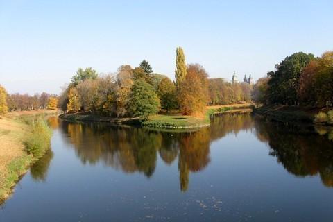 FOTKA - Soutok dvou řek Labe a Orlice