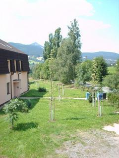 FOTKA - Výhled z okna na Ještěd.