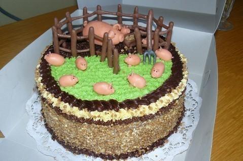 FOTKA - Prasečí dortík