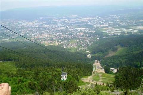 FOTKA - Výhled z Ještedu / na Liberec, Jizerské hory/