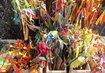 Velikonoční trhy na Smíchově - pomlázky asi nevyprodali