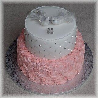 FOTKA - svadobná torta na želanie - od našej známej cukrárky