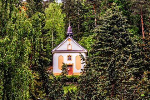 FOTKA - Kaple sv. Barbory- Jáchymov