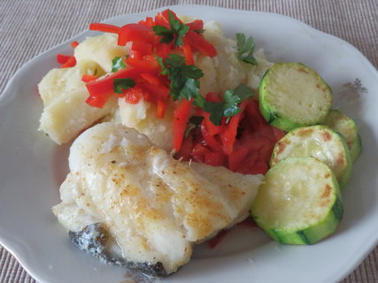 FOTKA - ryba brambor cuketa