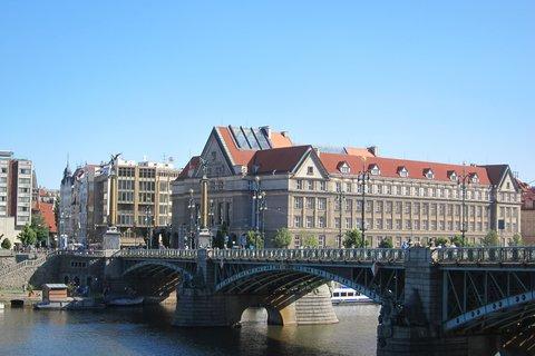 FOTKA - Dnes -  Čechův most a Právnická fakulta