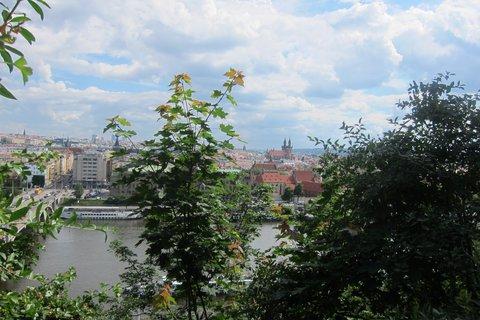 FOTKA - Výhled přes Vltavu z Letné