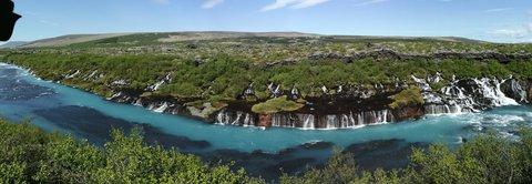 FOTKA - Island-záplava vodopádov
