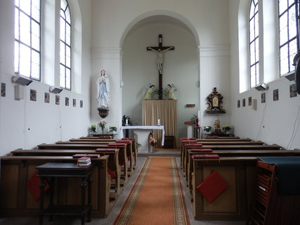 FOTKA - Kaple Panny Marie Lurdské - Konstantinovy Lázně -interiér