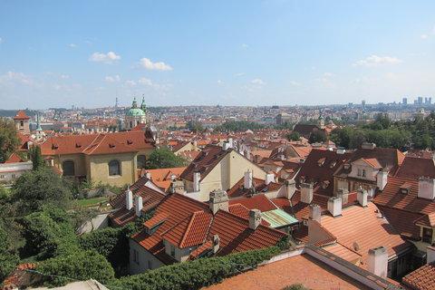 FOTKA - Z Hradčanského náměstí - výhled z rampy