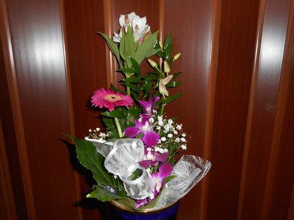 FOTKA - Krásná kytice k narozeninám