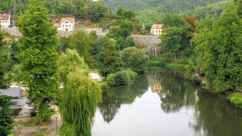 FOTKA - Ohře pod hradem