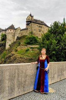 FOTKA - v Lokti mají samé krásné hradní paní