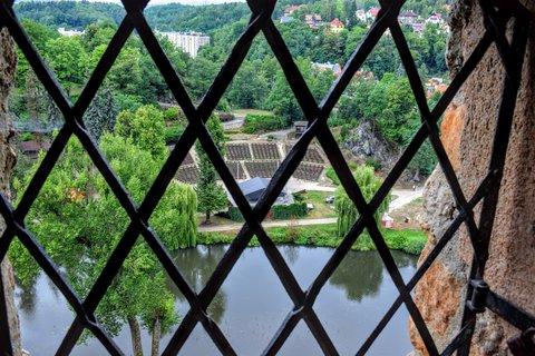 FOTKA - Pohled z hradu na amfiteátr