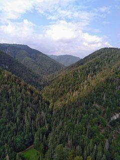 FOTKA - Tomášovský výhľad-pekný výhľad do doliny Bieleho potoka, na Prielom Hornádu a na Vysoké Tatry