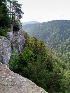 FOTKA - Tomášovský výhľad sa používa aj ako cvičný horolezecký terén