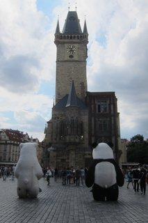 FOTKA - Staroměstské náměstí - hlídači