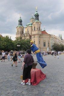 FOTKA - Staroměstské náměstí -suvenýr,  vzpomínka na Prahu