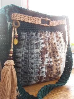 FOTKA - Háčkovaná kabelka... Ze zemské hlubiny