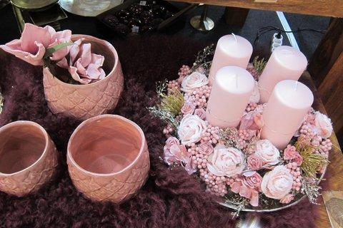 FOTKA - FOR DECOR & HOME - Vánoční dekorace v růžové