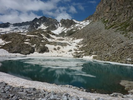 FOTKA - velké ledovcové jezero
