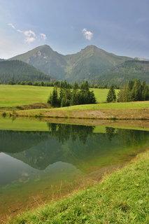 FOTKA - horské zrcadlení