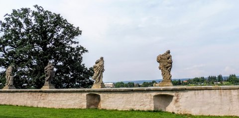 FOTKA - to nejlepší z baroka - sochy Matyáše Bernarda Brauna na Kuksu