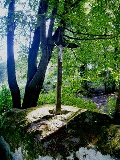FOTKA - procházkou v Chřibech- křížek u cesty