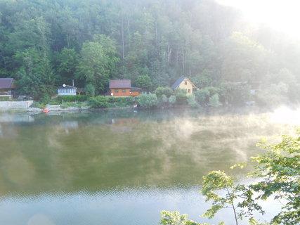 FOTKA - Mlha nad zátokou brzy ráno (20.6.)