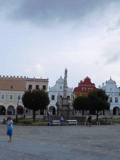 FOTKA - Mariánský morový sloup na náměstí  (31.7.)