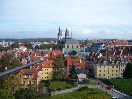 FOTKA - Cheb hrad vyhled na mesto