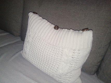 FOTKA - Polštář ze svetru